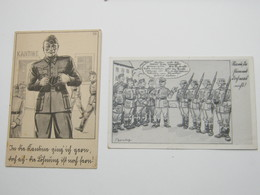 2 Propagandakarten - Allemagne
