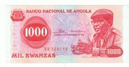 ANGOLA»1000 KWANZAS»1976»PICK- 113(A)»UNC - Angola