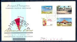 K309- Postal Used Cover. Posted From Indonesia To Pakistan. - Indonesia