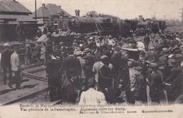 Contich  21 Mai 1908 Vue Generale De La Catastrophe - Kontich
