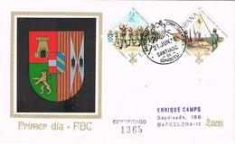 31588. Carta Certificada SANTIAGO De COMPOSTELA (Coruña) 1971 - 1931-Hoy: 2ª República - ... Juan Carlos I