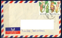 K317- Postal Used Cover. Posted From Malaysia To Pakistan. - Malaysia (1964-...)