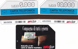 """SCHEDE TELEFONICHE """"COMPAGNA DI TUTTI I GIORNI"""" DITTA MANTEGAZZA SCADENZA 30/06/1996 USATE - Italy"""