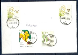 K319- Postal Used Cover. Posted From Malaysia To Pakistan. - Malaysia (1964-...)