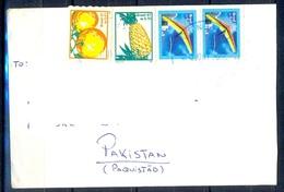 K320- Postal Used Cover. Posted From Brasil Brazil To Pakistan. - Brazil