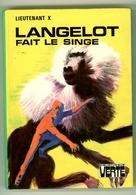"""Bibliothèque Verte - Lieutenant X - """"Langelot Fait Le Singe"""" - 1974 - Bibliothèque Verte"""