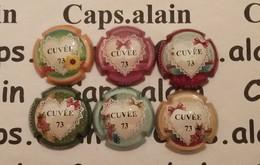 6 CAPSULES CHAMPAGNE PETIT CUVEE 73 NEWS - Autres