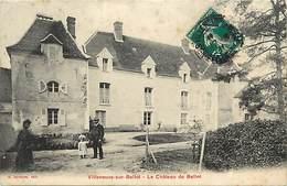 Seine Et Marne -ref-B500- Villeneuve Sur Bellot - Chateau De Bellot - Chateaux - Carte Bon Etat - - Autres Communes