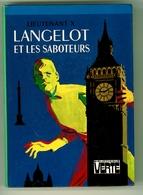 """Bibliothèque Verte - Lieutenant X - """"Langelot Et Les Saboteurs"""" - 1976 - Bibliothèque Verte"""