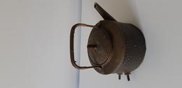 Antica Teiera Elettrica - Lavorazione Artigianale, 18x21 Cm. - Rame