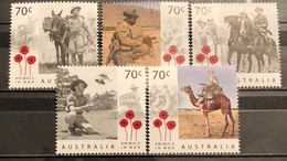 Australia, 2015, Animals In War (MNH) - Ongebruikt