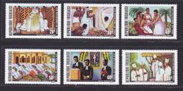 TOGO N°  719 à 721, AERIENS 164 à 166 ** MNH Neufs Sans Charnière, TB (D8666) Les Religions Au Togo - 1971 - Togo (1960-...)