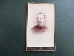 CDV PHOTO MILITAIRE  N° COL 95  PHOTOGRAPHE FONTES 75 PARIS - Oud (voor 1900)