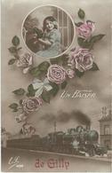 Un Baiser De GILLY - Cachet De La Poste 1914 - Charleroi