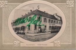 NEUF  BRISACH  ( 68 ) - NEUBREISACH  - CPA -  Hôtel  Reichelt . - Neuf Brisach
