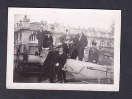Photo Originale Vintage Guerre 39-45 Nancy Place Stanislas Materiel Militaire Avion ? - Guerre, Militaire