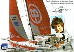 Route Du Rhum 2014 : Le Voilier De Paul Hignard - Voiliers