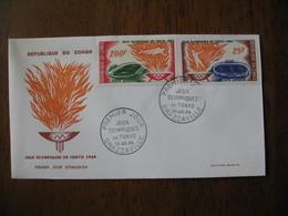 FDC  Enveloppe   République Du Congo    1964  Brazzaville - FDC