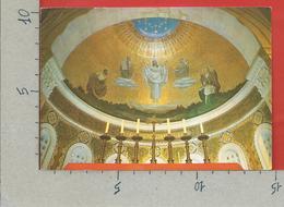 CARTOLINA VG ISRAELE - Mt. TABOR - Basilica Of The Transfigaration - Mosaic Above The Main Altar - 10 X 15 - ANN. 1993 - Israele