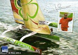 Route Du Rhum 2014 : Le Voilier De Yves Le Blevec - Voiliers