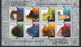 Karabakh Artsakh Armenia MNH** 2018 Minerals Of Shushi Mi 177-184 - Armenien