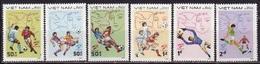 Vietnam, 1982, 1982 World Cup, 6 Stamps - Wereldkampioenschap