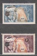 French Polynesia Polinesie 1964 Mi#33-34 Mint Never Hinged - French Polynesia