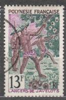 French Polynesia Polinesie 1967 Mi#69 Used - Polinesia Francese