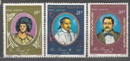 French Polynesia 1976 Mi#212,213,215 Used - Polinesia Francese