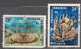 French Polynesia 1978 Mi#256-257 Used - Polinesia Francese