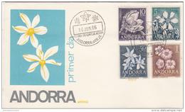 Andorra Española Spd Nº 68 Al 71 - Andorra Española