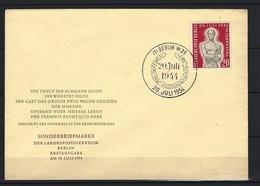 BERLIN FDC Mi-Nr. 119 -  10. Jahrestag Attentat Hitler - FDC: Briefe