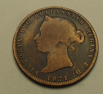 1871 - Jersey - 1/13 Of SHILLING, Victoria, 1st Effigie, KM 5 - Jersey