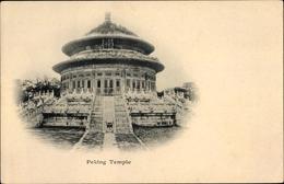 Cp Beijing Peking China, Temple, Tempel, Pagode - Chine