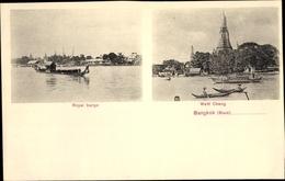 Cp Bangkok Thailand, Royal Barge, Watt Chang - Chine