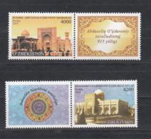 Uzbekistan Usbekistan MNH** 2018 2019 Abdul Khaliq Ghajadwani Mausoleum And Baha-ud-Din Naqshband Bukhari  Mi 1339-40 - Usbekistan
