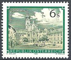 Timbres Neufs** D'autriche, N°1621 Yt, Abbaye De Rein Hohenfurth - 1945-.... 2ème République