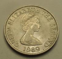 1989 - Jersey - TEN PENCE, ELIZABETH II, KM 57.1 - Jersey
