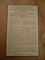 Lokeren Heiende Alfons Van Den Hende 1892 1945 - Images Religieuses
