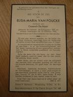 Lokeren Elisa Van Poucke 1877 1950 - Images Religieuses