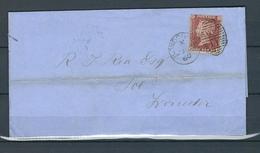 GREAT BRITAIN, 1860,  QUEEN VICTORIA, Cover Circulated, (Raritäten) - Neufs