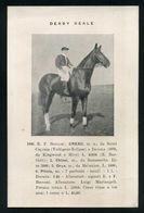 CAVALLO - CHEVAL - CHEVAUX - HORSES - PFERD - IPPICA - DERBY REALE 1906 - E.F. Bocconi: CRESO - Cavalli