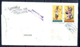 K364- Postal Used Cover. Posted From USA To Pakistan. Dance. - United States