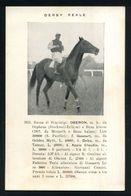CAVALLO - CHEVAL - CHEVAUX - HORSES - PFERD - IPPICA -  IPPICA - DERBY REALE 1931 - Razza Di Stupinigi OBERON - Cavalli