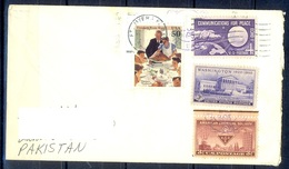 K367- Postal Used Cover. Posted From USA To Pakistan. - United States