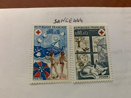 France Red Cross Mnh 1974 - France
