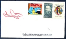 K371- Postal Used Cover. Posted From USA To Pakistan. Famous People. - United States