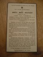 Lokeren Heiende Angèle Hulstaert 1913 1947 - Devotieprenten
