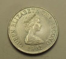 1992 - Jersey - TEN PENCE, ELIZABETH II, KM 57.2 - Jersey