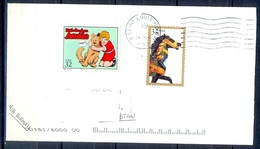 K374- Postal Used Cover. Posted From USA To Pakistan. - United States